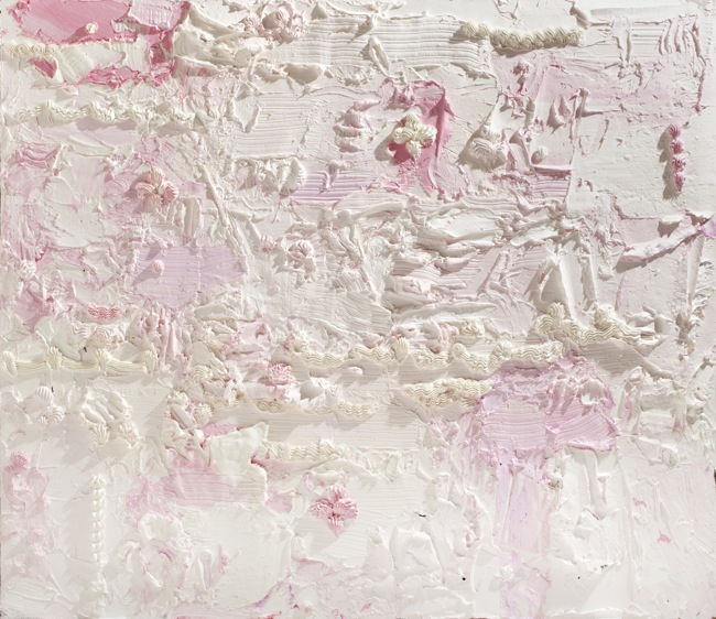 Will Cotton, Persistence of Desire 3, 2014, oil and wax on linen, 70x80 inches, Courtesy of the artist, Mary Boone Gallery, New York and Ronchini Gallery, London