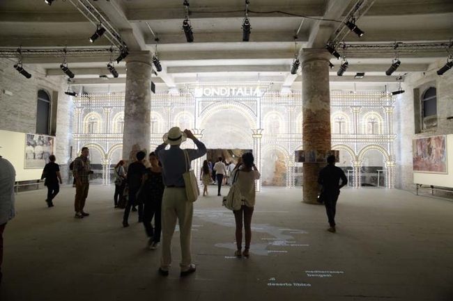 MONDITALIA:  Corderie dell'Arsenale
