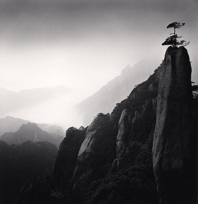 MICHAEL KENNA, Huangshan Mountains, Study 25, Anhui, China 2009, cm. 19x19, ed.26/45