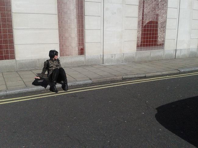 Lucia Farinati, ritratto, Londra