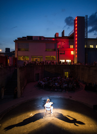 Botto&Bruno, L'enfant sauvage, video, Meteorite in Giardino 7. Art and Music Summer Program, Fondazione Merz, Torino