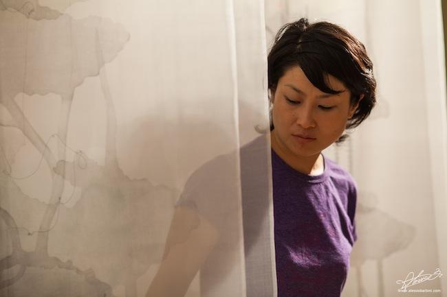 Veduta dell'allestimento di Kaori Miyayama. Foto di Alessio Barbini