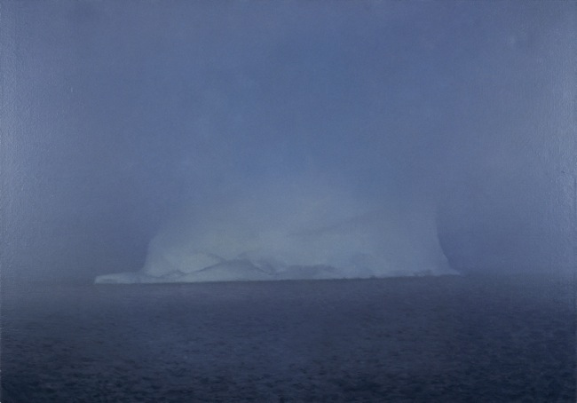 Gerhard Richter, Eisberg im Nebel, 1982 Iceberg in Mist Oil on canvas, 70 cm x 100 cm The Doris and Donald Fisher Collection © 2014 Gerhard Richter