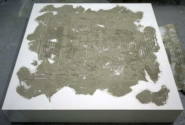 Andrea Francolino, A-biotic, installation view