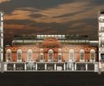 Museo Egizio, Torino (render sezione)