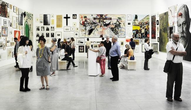 Le mur. La collection Antoine de Galbert, veduta della mostra alla Maison Rouge, ph. Giuseppe Caruso