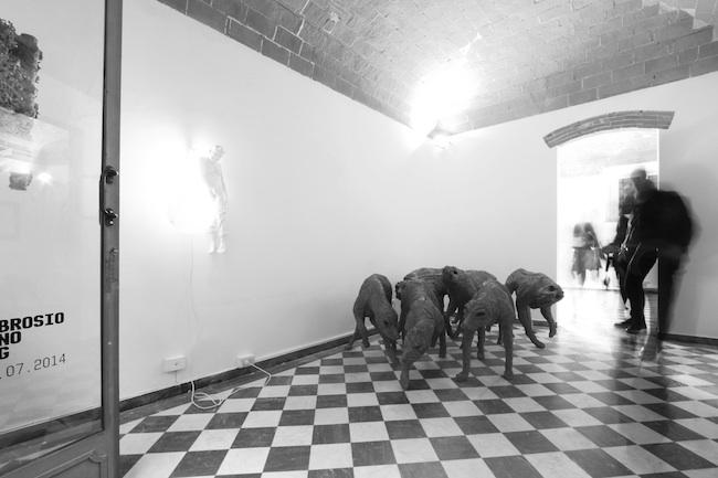3x3 - aolo Grassino | Bernardi Roig | Maddalena Ambrosio, veduta della mostra, 2014, Eduardo Secci Contemporary, Pietrasanta