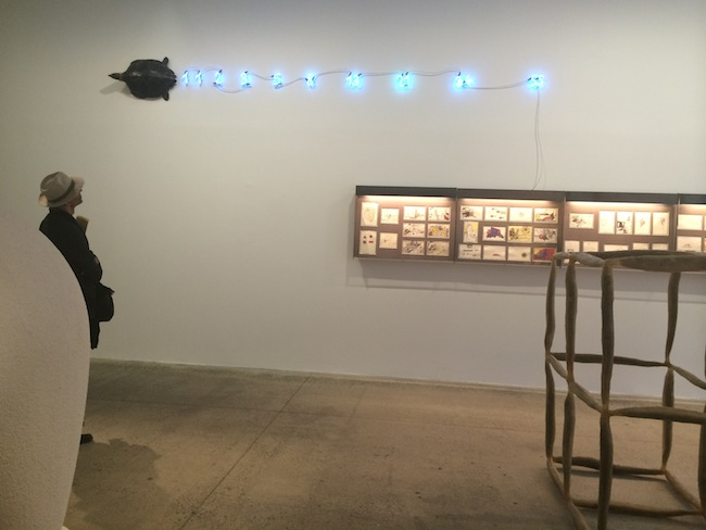 View of the exhibition Vivid Memories, May 10 – September 21, 2014, Fondation Cartier pour l'art contemporain, Paris, Mario Merz, ph. Isabella Falbo