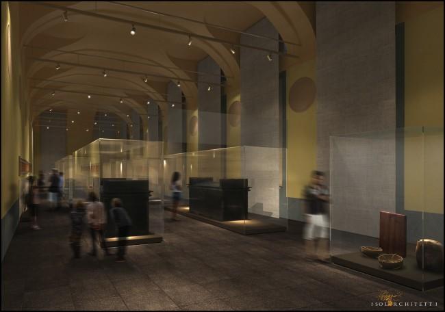 Museo Egizio, Torino (render Sala d Kha)