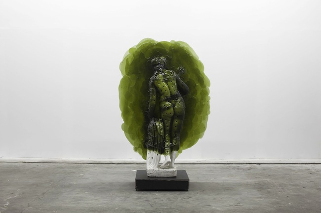 Nick van Woert, Lady Lady, 2011 statua in fibra di vetro, poliuretano, acciaio 182.88 x 111.76 x 60.96 cm Zabludowicz Collection