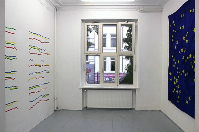 Installation view, Un'Idea Brillante, FRISE Künstlerhaus, 2014