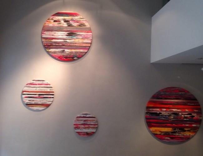 paolo Bini, Panoramiche Emozionali, Cerruti Arte, Genova, anteprima dell'allestimento, courtesy l'artista
