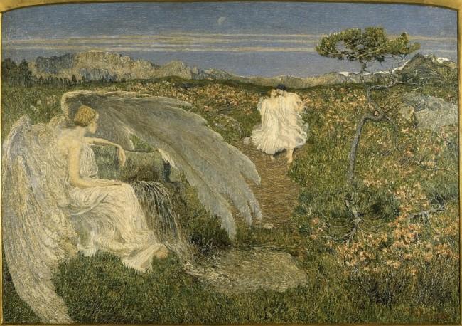 Giovanni Segantini, L'amore alla fonte della vita, 1896, Galleria d'Arte Moderna, Milano
