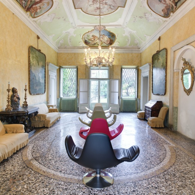 DimoreDesign 2013, Stefano Giovannoni a Palazzo Agliardi Foto Ezio Manciucca