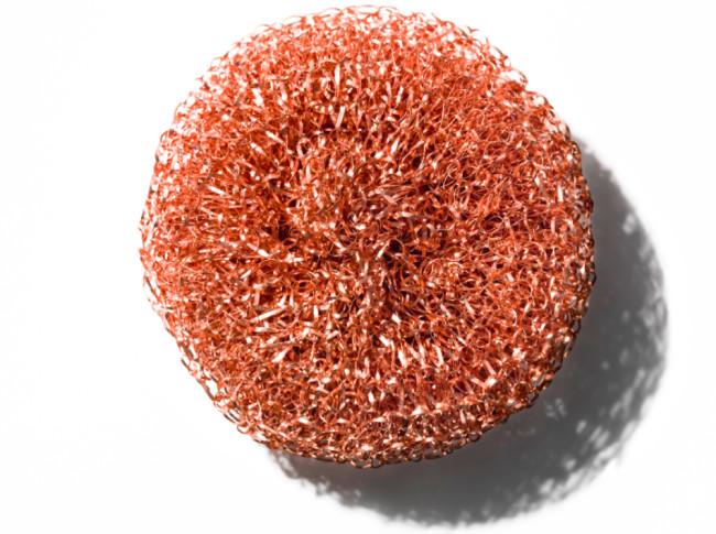 Copper Sponge, Hay, 2011