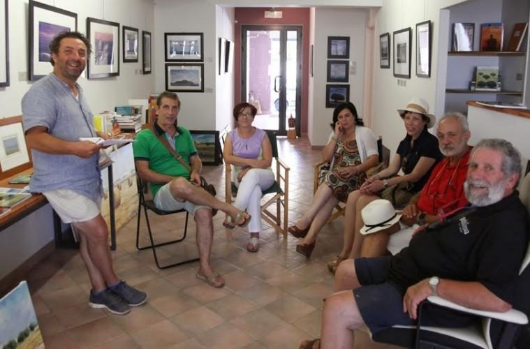 Sentire in bottega incontri d arte nello spazio cultura for Gruppo inventa pozzallo