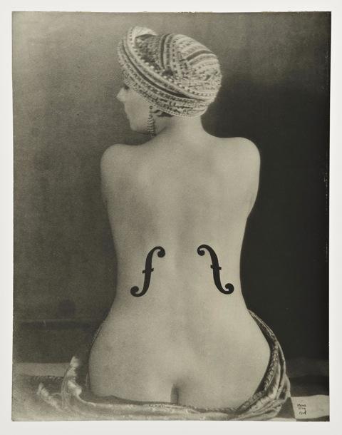 Man Ray, Le Violòn d'Ingrès, 1924, collezione privata, Svizzera © Man Ray Trust by SIAE 2014