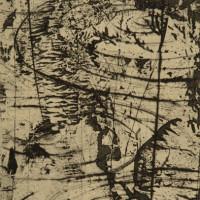 Ohya Masaaki, A Priori Towane06-2, 25x17cm, drypoint, 2006, ed. 10