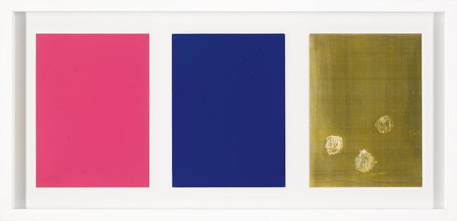 Yves Klein, Tryprique de Krefeld, Archives Klein, Parigi