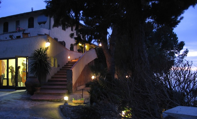 Villa Biener by night