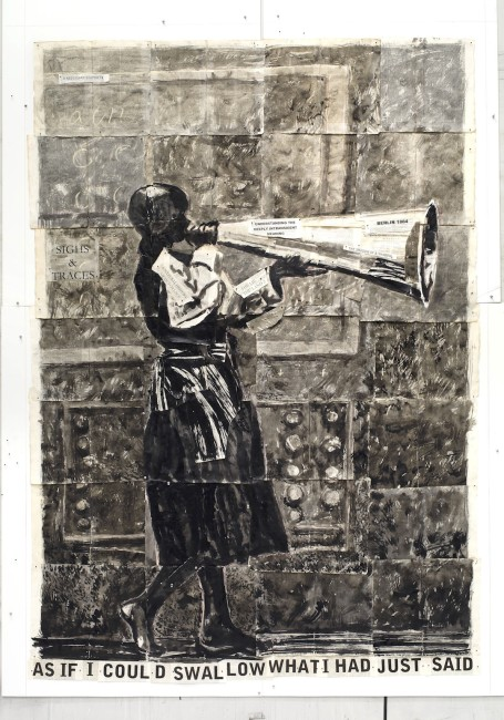 William Kentridge, Draw, 2012