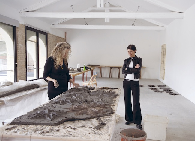 Kiki Smith e Roberta Ceretto, Casa dell'Artista, 2011. Foto: Bruna Biamino