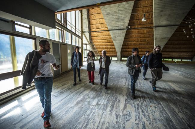 Esplorazioni all'ex Villaggio Eni di borca di Cadore per il progettoborca