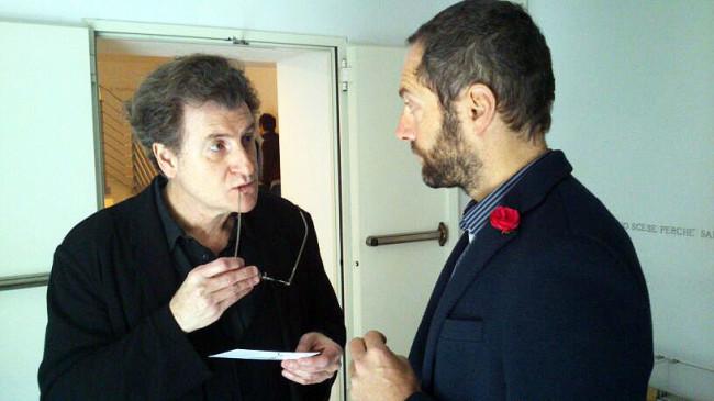 Gianluca d'Incà Levis e Alfredo Jaar, entrambi nella giuria di twocalls