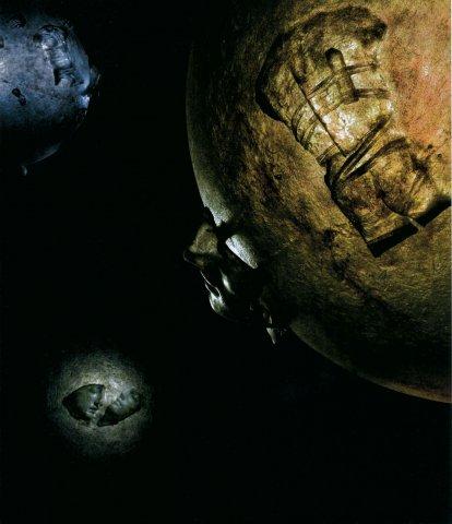 Igor Mitoraj, Grande notturno (omaggio a Galilei), 2008 , resina, cm 128x128x124h