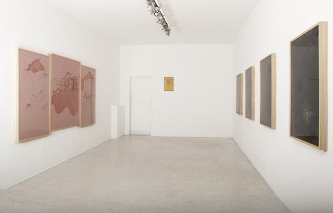 Sophie Ko Chkheidze, vista dell'installazione solo show @ aplusb, Brescia