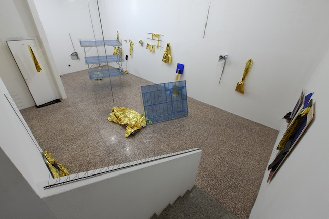 Bruna Esposito, Installation view, FL GALLERY. Photo: Antonio Maniscalco.