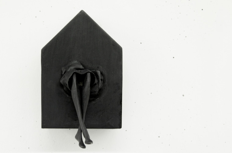 Anna Turina, s.n.c., 2014, ferro saldato, 20x12x15 cm