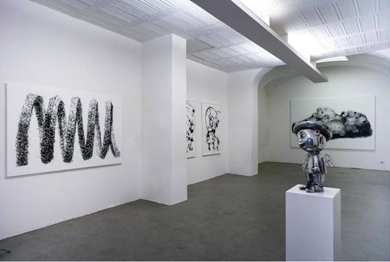 DANILO BUCCHI_MONOCHROME_INSTALLATION VIEW_courtesy galleria poggiali e forconi_1
