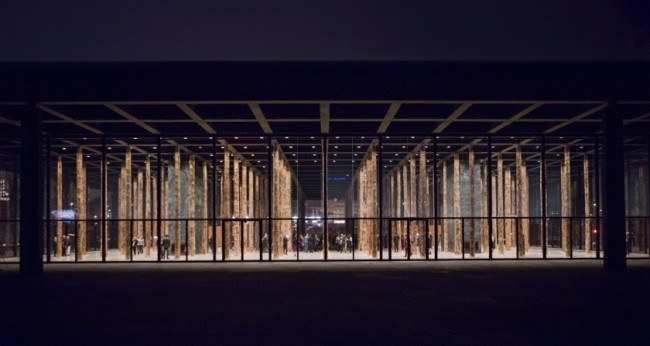 David Chipperfield, Sticks and Stones, an intervention , installation view, Photo: David von Becke.