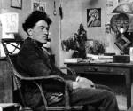 Giacometti nel suo studio
