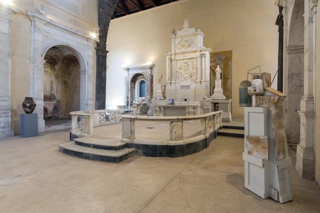 """Veduta della mostra """"Vincenzo Rusciano. Sponda"""", foto Danilo Donzelli photography"""