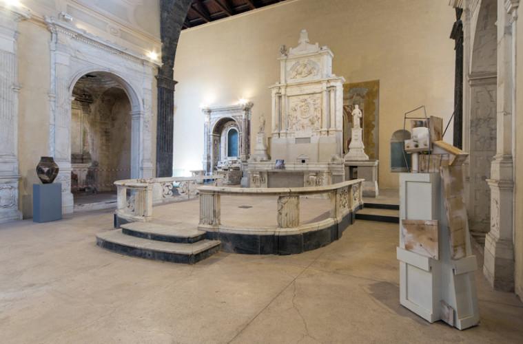 Vittorio Rusciano, Sponda, 2014, veduta della mostra, ph. Danilo Donzelli photography