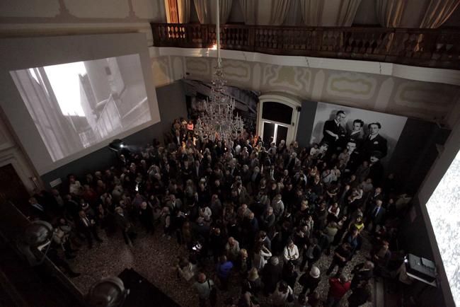 Inaugurazione della mostra MAN RAY a Villa Manin. Foto Elia Falaschi/Focus Agency