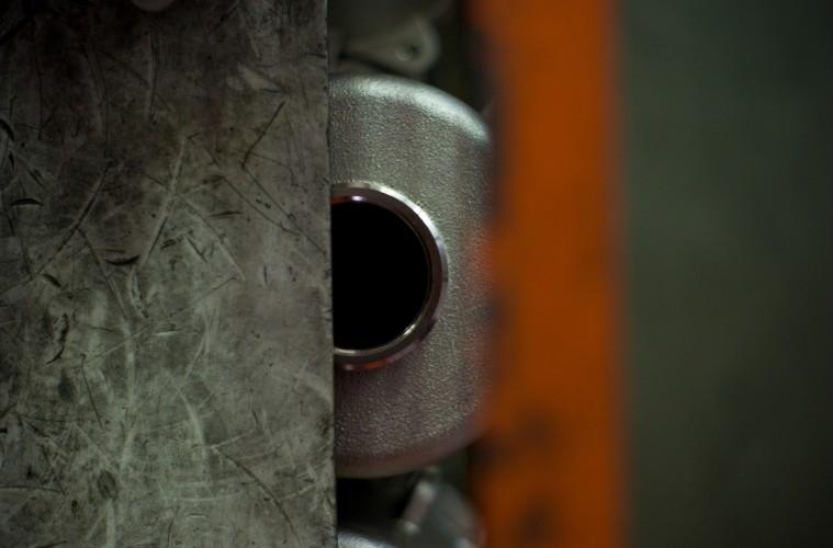 Jill Mathis, Industria, stampa fine art Giclèe montata e incorniciata in alluminio, 120x90 cm, 2014 (n°2)