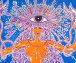 Matteo Guarnaccia_Blowin'Woman_2001_acrilico su tela_bassa