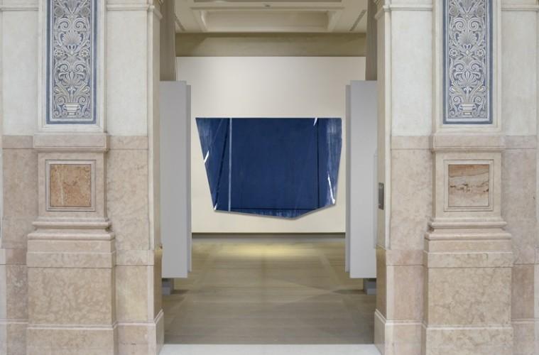 Rodolfo Aricò, Sensus 2, 1988, acrilico su tela, 200x300 cm Collezione Intesa Sanpaolo, Milano