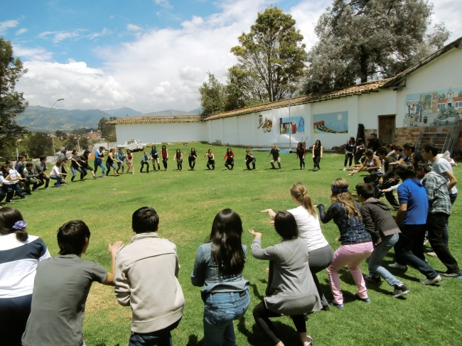The School of Narrative Dance, Ecuador #12, #106 Images of Performance  Courtesy the artist