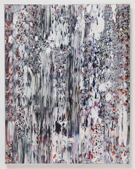 Joe Reihsen, My heart raced with joy, 2014, natural and synthetic polymers on panel, aluminum frame, 152.4x119.4 cm © Courtesy Brand New Gallery, Milano