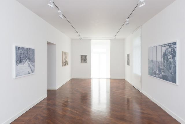 Veduta di Quadri d'interno di Federico Pietrella , smART - polo per l'arte, Roma