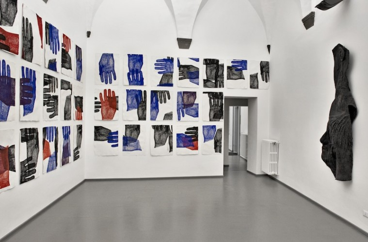 Richard Dupont, BIOMETRY, veduta dell'allestimento, Eduardo Seccy Contemporary Art, Firenze