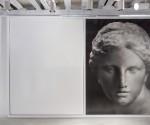 Akira Arita, Tete d'Aphrodite, 2014, matita su carta, 255x392 cm