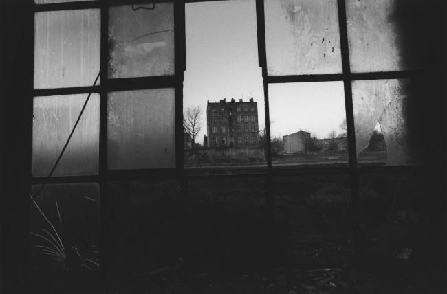 David Lynch, Untitled (Lodz), 2000, archival gelatin-silver print, 28x35.5 cm © Collection of the artist