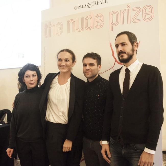 Maria Iorio, Vanessa Beecroft, Raphael Cuomo e Gianmaria Tosatti