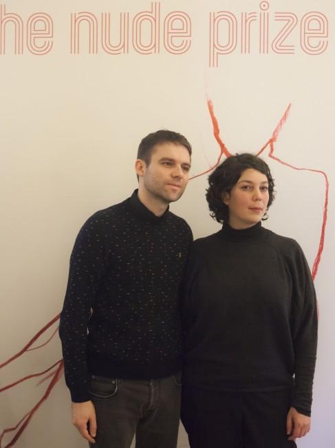 Raphael Cuomo e Maria Iorio, vincitori di The Nude Prize. Premio Furla 2015