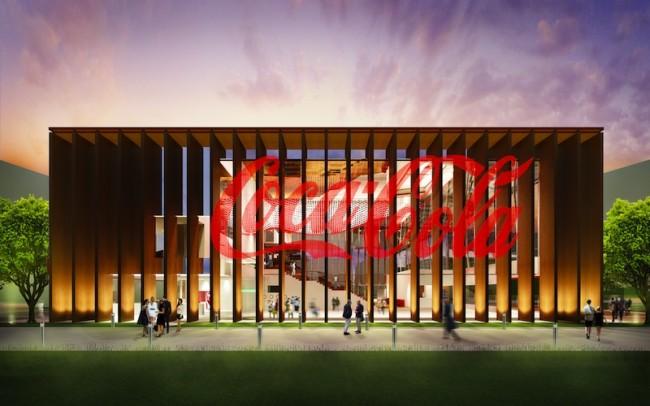 Padiglione Coca-Cola per Expo 2015, facciata nord